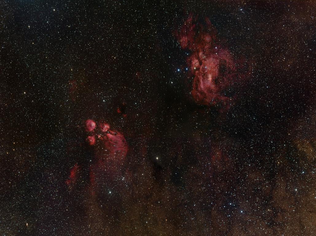 いて座の方向にある天の川銀河の中心部の美しい姿_d0063814_14541081.jpg