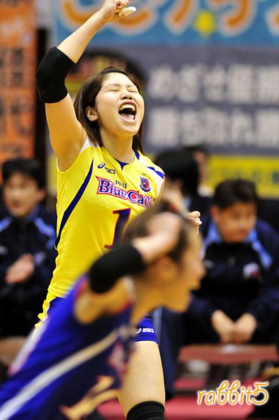 1・餅田千佳選手 : Shikama☆Colo...