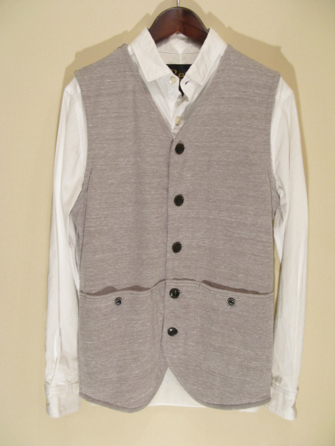 新作『Cut & Sew Made Hunting Vest』_e0142928_21133772.jpg