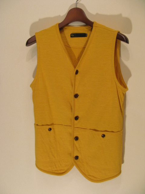 新作『Cut & Sew Made Hunting Vest』_e0142928_21281175.jpg