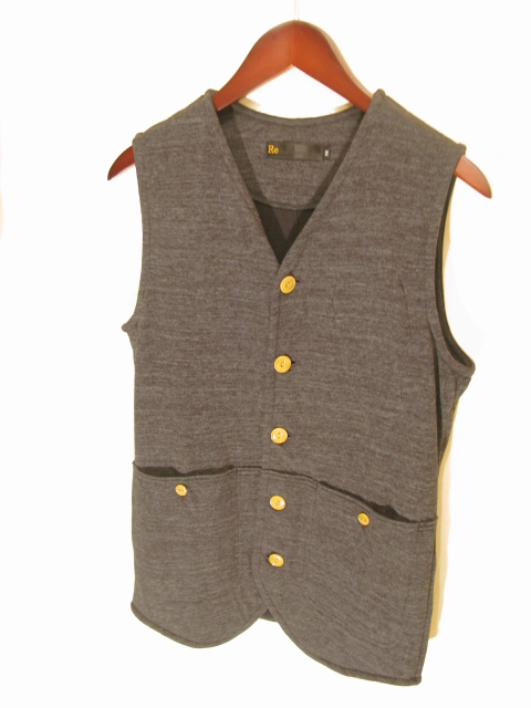 新作『Cut & Sew Made Hunting Vest』_e0142928_21291485.jpg