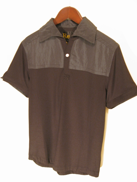 新作『Viscose×Silk Italian Collar Polo Shirt』_e0142928_21385787.jpg