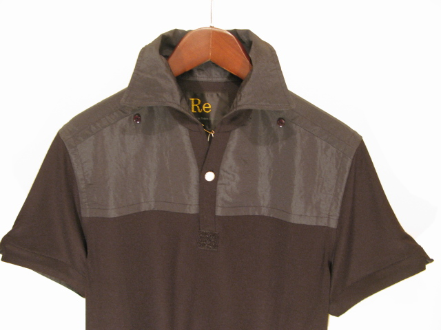新作『Viscose×Silk Italian Collar Polo Shirt』_e0142928_21492834.jpg