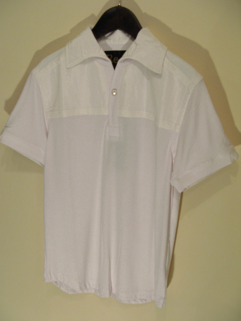 新作『Viscose×Silk Italian Collar Polo Shirt』_e0142928_21554323.jpg