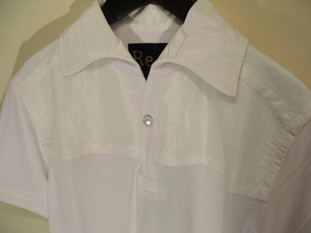 新作『Viscose×Silk Italian Collar Polo Shirt』_e0142928_21555967.jpg