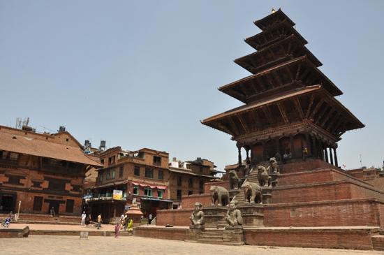 ネパールの五重塔!世界遺産バク...