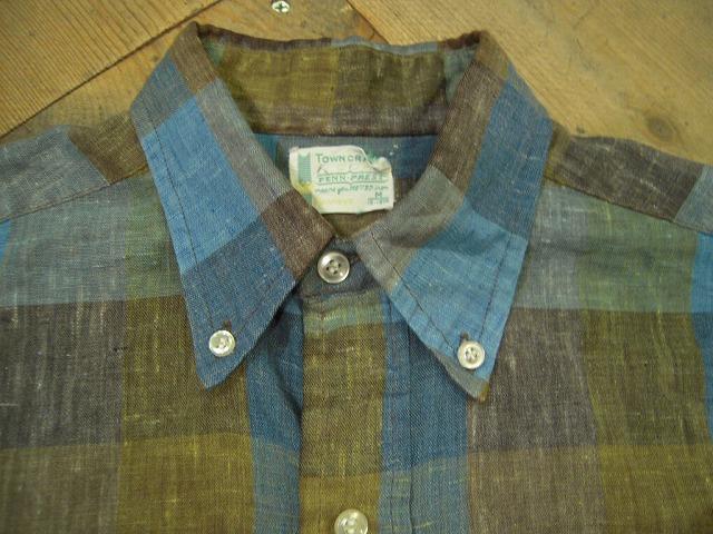 イケてるチェックな半袖シャツ。_d0121303_11553215.jpg