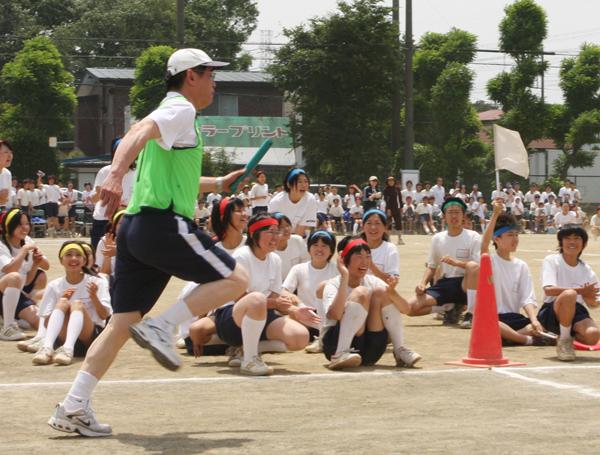 三芳中学校体育祭~疾風の如く走り抜けるスーパーマン?!_d0130714_17513457.jpg