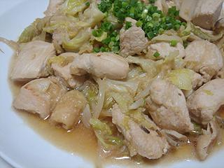 鶏のにんにく野菜炒め_c0025217_14154556.jpg
