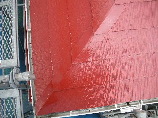屋根塗装工事5日目です。_c0186441_144099.jpg