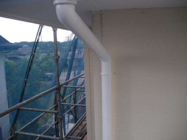 屋根塗装工事5日目です。_c0186441_1463948.jpg