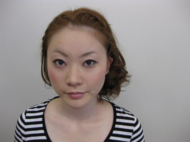 メイク&ヘアアレンジ☆_e0153952_16263466.jpg