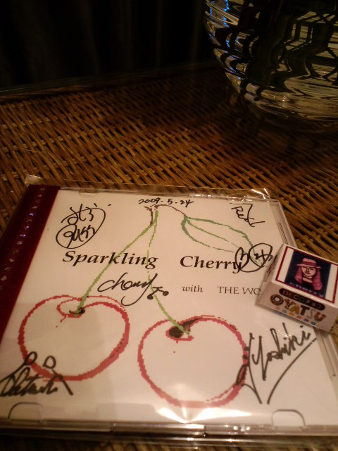 SPARKLING☆CHERRY with THE WORKS@渋谷7ef_a0088007_23211557.jpg