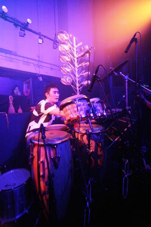 "Shibuya\""WOMB\"" Live Percussion 2009 RENATO COHEN feat.KTa☆brasil_b0032617_14185796.jpg"