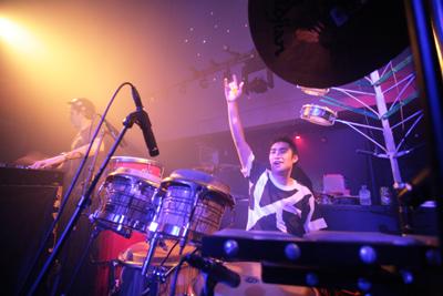 "Shibuya\""WOMB\"" Live Percussion 2009 RENATO COHEN feat.KTa☆brasil_b0032617_1421440.jpg"