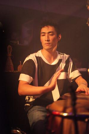 "Shibuya\""WOMB\"" Live Percussion 2009 RENATO COHEN feat.KTa☆brasil_b0032617_14281743.jpg"