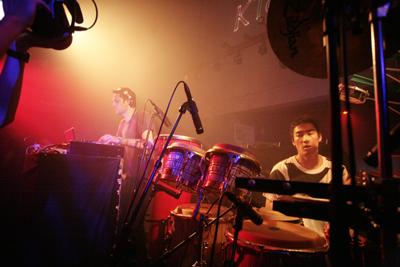 "Shibuya\""WOMB\"" Live Percussion 2009 RENATO COHEN feat.KTa☆brasil_b0032617_14384462.jpg"