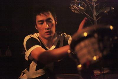 "Shibuya\""WOMB\"" Live Percussion 2009 RENATO COHEN feat.KTa☆brasil_b0032617_14393466.jpg"