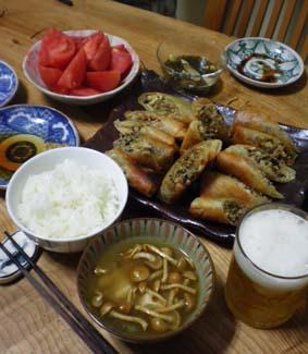 味噌汁日記  なめこと豆腐_b0126182_22163854.jpg