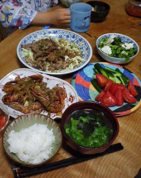 味噌汁日記 カブの葉っぱとワカメ_b0126182_22371553.jpg