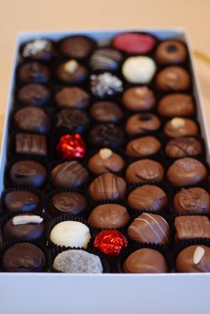 ケロウナから届いた「Annegret\'s」のチョコレート。_d0129786_13534641.jpg