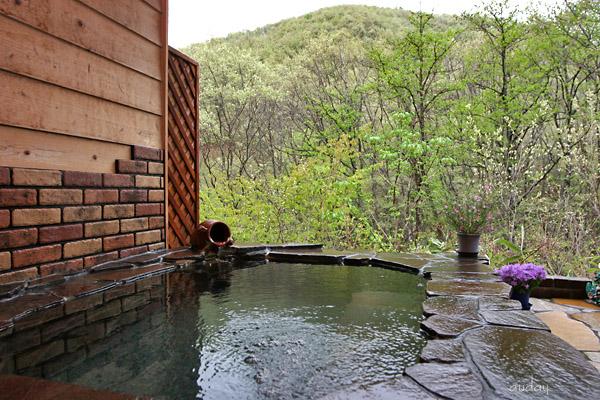 新緑 貸切露天風呂♪_c0048494_17261837.jpg