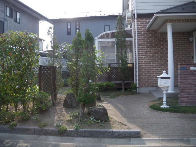 庭樹剪定です_c0186441_22184761.jpg