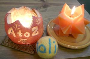 AtoZ展〜ポップで可愛いキャンドルたち_a0017350_23514575.jpg
