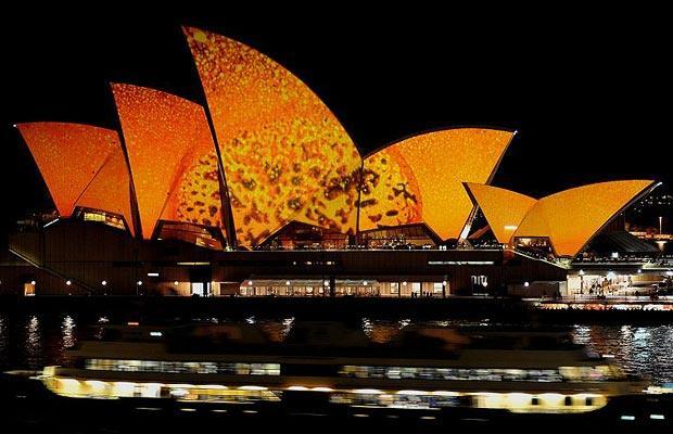 Sydney Opera House : オレンジ色を作るには : すべての講義