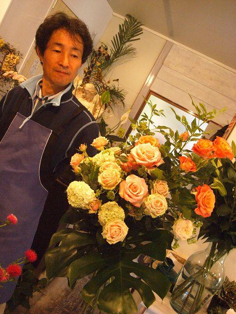 ROKAさんの花束_b0137969_18432342.jpg