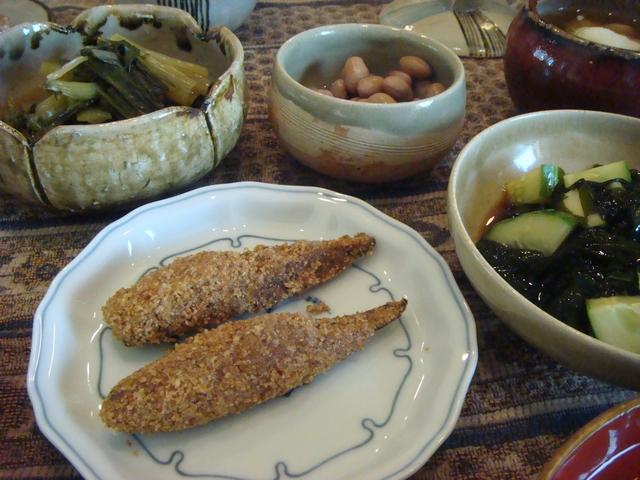 三つ葉とミントがある、朝食は香りの世界、_d0100880_10101130.jpg
