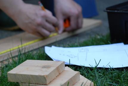 切妻屋根の鳥の巣箱制作プロジェクト。_d0129786_14435529.jpg