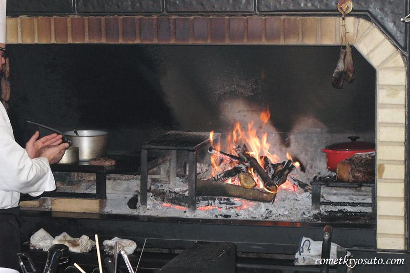 明野の暖炉レストラン_b0179231_1255338.jpg