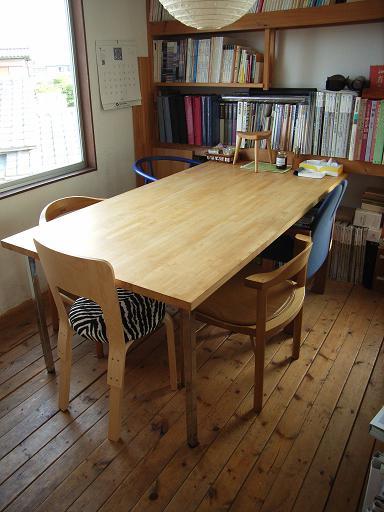 事務所打合せスペースの床張り替え 2009/5/28_a0039934_18462520.jpg