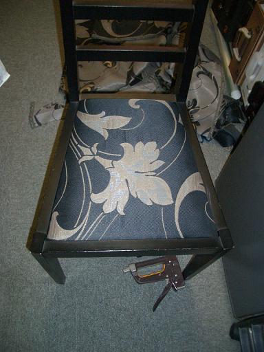 ハギレで椅子張替_e0133255_1330222.jpg