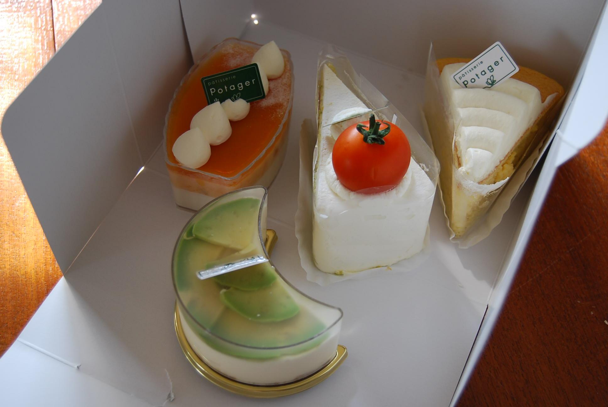 ポタジエのケーキ_e0142956_10485045.jpg