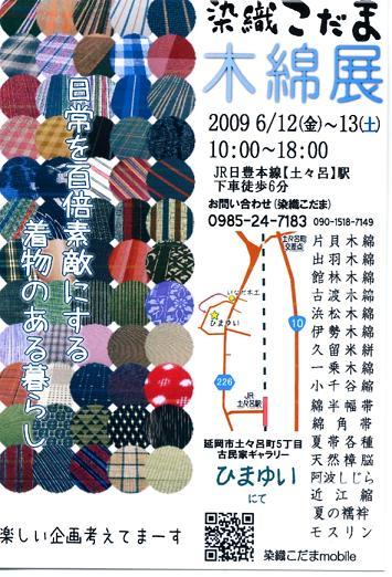 「木綿のきもの展」_f0121167_2251997.jpg