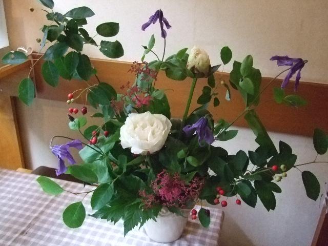 オークリーフ花の教室(カフェマレットさんにて。第5回)_f0049672_17513687.jpg