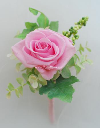 プリザーブド* バラの花のグラデーションキャスケードブーケ & ブートニア_a0115684_13263485.jpg