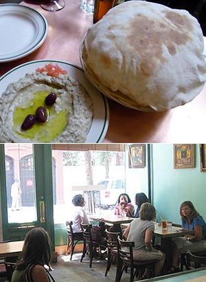 NYのNo1中東料理ピザ・レストラン Moustache Pitza_b0007805_20542067.jpg