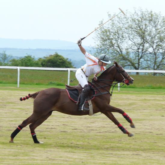 1チーム通常4人で構成され、メンバーは馬に乗りス …
