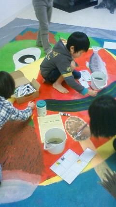 巨大壁画 河童_b0187423_1402680.jpg