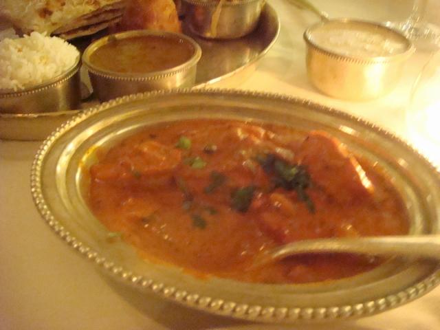 遊んだあとの食事はインド料理、_d0100880_2211840.jpg