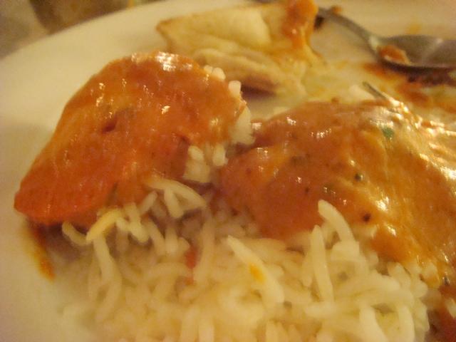遊んだあとの食事はインド料理、_d0100880_22181286.jpg