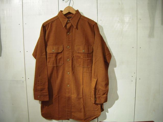 コットンフランネルワークシャツ♪_d0121303_19452360.jpg