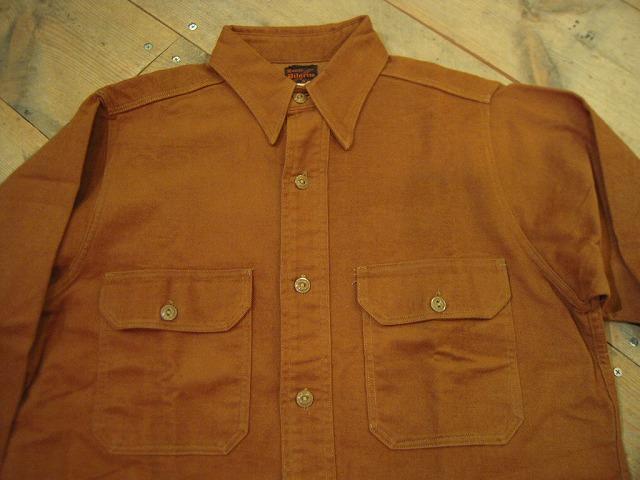 コットンフランネルワークシャツ♪_d0121303_19453394.jpg