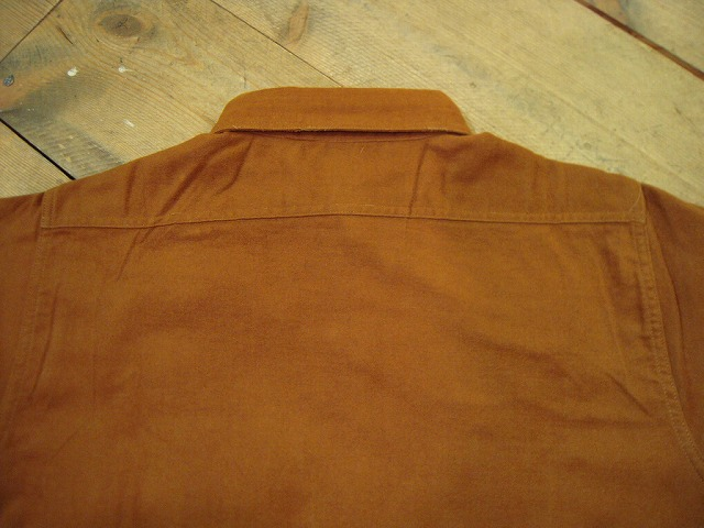コットンフランネルワークシャツ♪_d0121303_19453768.jpg