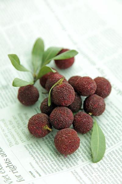 香港のおまけ版 謎の果物はヤマモモでした。_b0117234_20485516.jpg