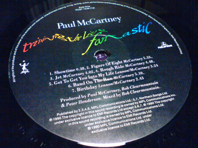 Paul McCartney / Tripping The Live Fantastic_c0104445_035626.jpg