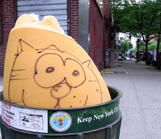 ニューヨークの看板やポスター_b0007805_14525533.jpg